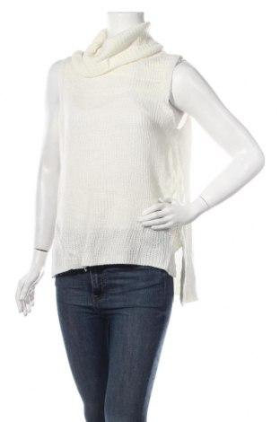 Дамски пуловер, Размер S, Цвят Бял, 100% акрил, Цена 4,41лв.