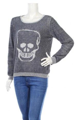 Дамски пуловер Avocado, Размер M, Цвят Син, 100% памук, Цена 24,02лв.