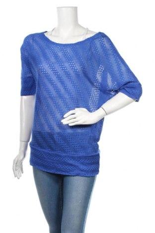 Дамски пуловер Crossroads, Размер S, Цвят Син, Полиестер, Цена 25,20лв.