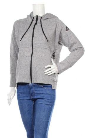 Damska bluza Adidas, Rozmiar M, Kolor Szary, 67% bawełna, 33% poliester, Cena 119,70zł