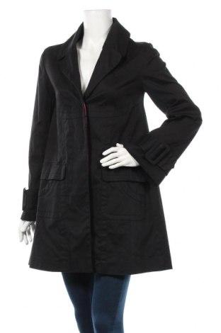 Γυναικείο παλτό Vero Moda, Μέγεθος S, Χρώμα Μαύρο, 98% βαμβάκι, 2% ελαστάνη, Τιμή 10,46€