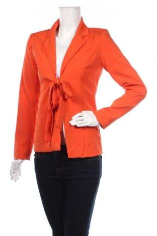 Дамско сако Allyson, Размер S, Цвят Оранжев, 100% полиестер, Цена 33,80лв.