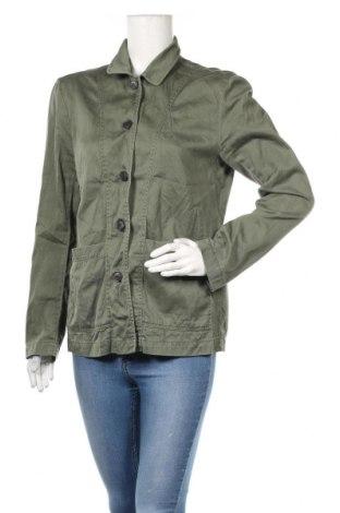 Дамско яке H&M L.o.g.g, Размер M, Цвят Зелен, Памук, Цена 5,67лв.
