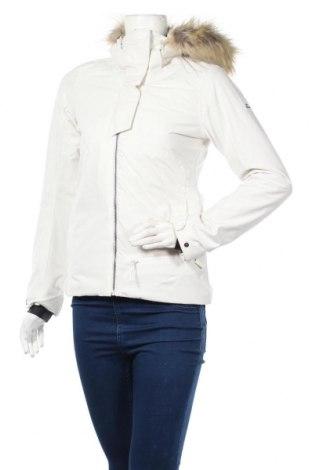 Дамско яке за зимни спортове Eider, Размер XS, Цвят Бял, 79% полиестер, 21% полиуретан, Цена 366,75лв.