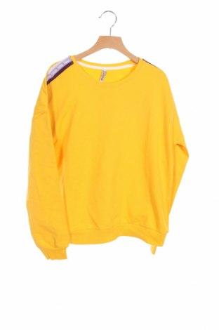Детска блуза Blue Effect, Размер 13-14y/ 164-168 см, Цвят Жълт, 92% памук, 8% еластан, Цена 20,16лв.