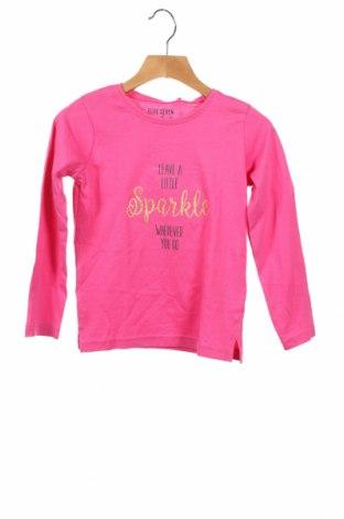 Детска блуза Blue Seven, Размер 4-5y/ 110-116 см, Цвят Розов, 100% памук, Цена 21,75лв.