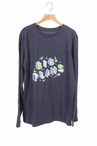 Детска блуза Cat & Jack, Размер 14-15y/ 168-170 см, Цвят Син, 60% памук, 40% полиестер, Цена 3,94лв.