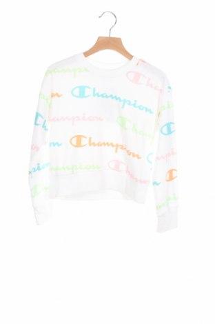Детска блуза Champion, Размер 6-7y/ 122-128 см, Цвят Бял, 60% памук, 40% полиестер, Цена 22,26лв.