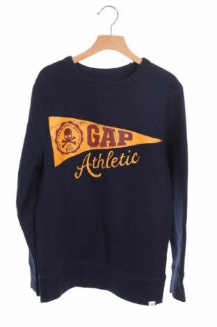 Детска блуза Gap Kids, Размер 10-11y/ 146-152 см, Цвят Син, 77% памук, 23% полиестер, Цена 27,30лв.