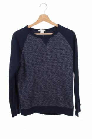 Детска блуза H&M, Размер 12-13y/ 158-164 см, Цвят Син, 80% памук, 20% полиестер, Цена 4,46лв.