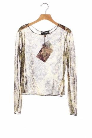 Детска блуза NEW girl ORDER, Размер 9-10y/ 140-146 см, Цвят Зелен, 95% полиестер, 5% еластан, Цена 16,32лв.