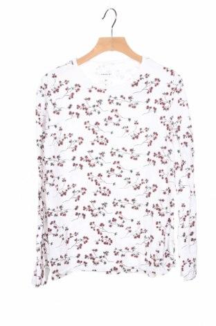 Детска блуза Name It, Размер 11-12y/ 152-158 см, Цвят Бял, 95% памук, 5% еластан, Цена 13,76лв.