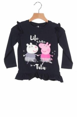 Детска блуза Name It, Размер 18-24m/ 86-98 см, Цвят Син, 95% памук, 5% еластан, Цена 14,53лв.