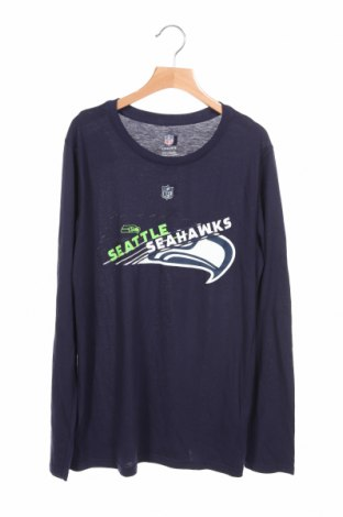 Детска блуза Nfl, Размер 13-14y/ 164-168 см, Цвят Син, 80% полиестер, 20% памук, Цена 3,94лв.