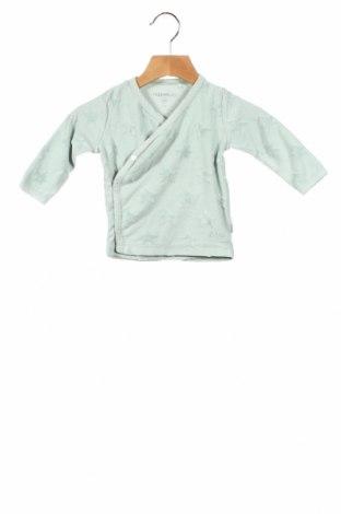Детска блуза Noppies, Размер 6-9m/ 68-74 см, Цвят Зелен, 70% памук, 30% полиестер, Цена 19,61лв.