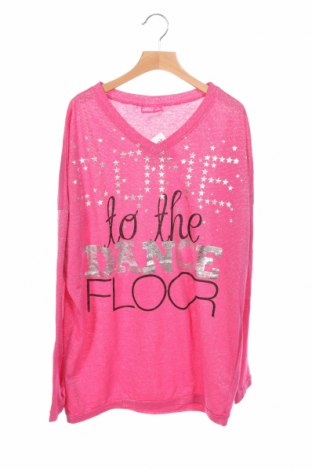 Детска блуза Okay, Размер 15-18y/ 170-176 см, Цвят Розов, 53% полиестер, 40% памук, 7% полиамид, Цена 4,20лв.