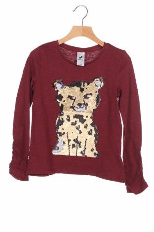 Детска блуза Palomino, Размер 7-8y/ 128-134 см, Цвят Червен, Памук, Цена 14,56лв.
