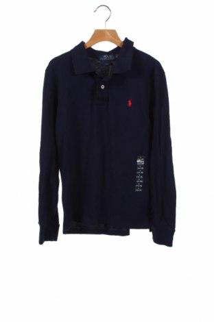 Детска блуза Polo By Ralph Lauren, Размер 13-14y/ 164-168 см, Цвят Син, 100% памук, Цена 44,85лв.