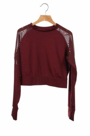 Детска блуза South Beach, Размер 9-10y/ 140-146 см, Цвят Червен, 77% полиестер, 23% еластан, Цена 25,50лв.