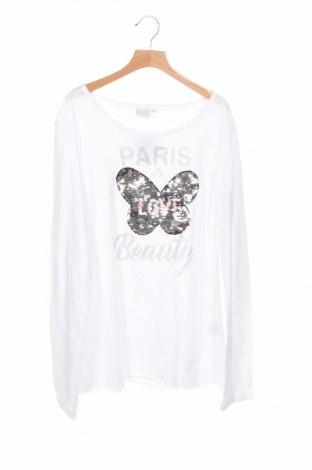 Детска блуза Topo, Размер 15-18y/ 170-176 см, Цвят Бял, Памук, Цена 5,51лв.