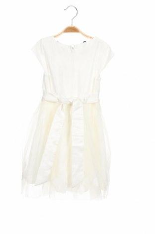 Детска рокля Eisend, Размер 5-6y/ 116-122 см, Цвят Бял, Полиестер, Цена 51,75лв.