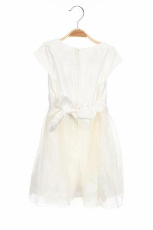 Детска рокля Eisend, Размер 3-4y/ 104-110 см, Цвят Бял, Полиестер, Цена 34,02лв.