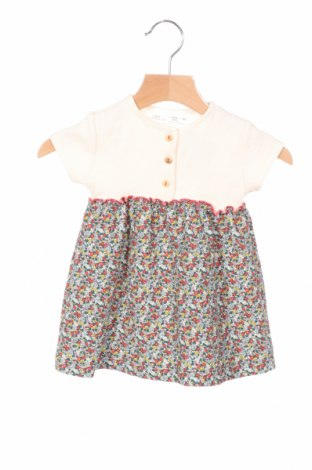 Детска рокля Zara, Размер 12-18m/ 80-86 см, Цвят Многоцветен, 69% памук, 28% полиестер, 3% еластан, Цена 22,68лв.
