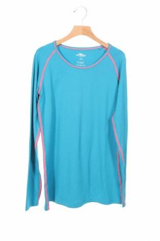 Детска спортна блуза Crane, Размер 15-18y/ 170-176 см, Цвят Син, 88% полиестер, 12% еластан, Цена 4,46лв.