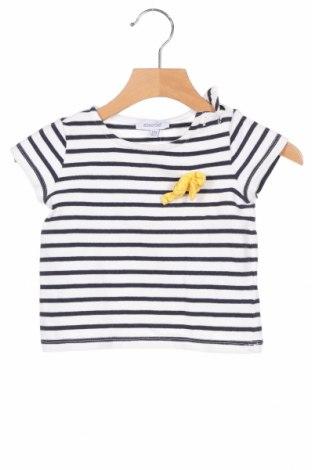 Детска тениска Absorba, Размер 9-12m/ 74-80 см, Цвят Бял, Памук, Цена 3,12лв.