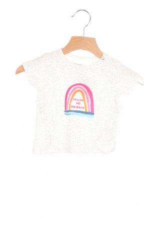 Παιδικό μπλουζάκι Noppies, Μέγεθος 2-3m/ 56-62 εκ., Χρώμα Λευκό, 95% βαμβάκι, 5% ελαστάνη, Τιμή 5,76€