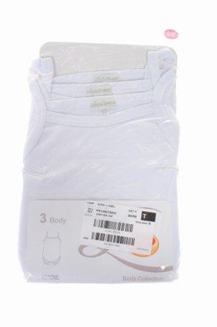 Детски комплект Label, Размер 12-18m/ 80-86 см, Цвят Бял, Памук, Цена 28,50лв.