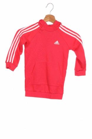 Детски суичър Adidas, Размер 18-24m/ 86-98 см, Цвят Розов, Полиестер, Цена 44,85лв.