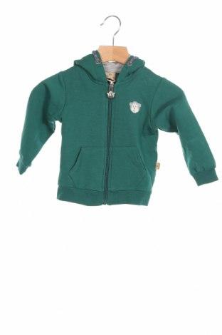 Детски суичър Belly Button, Размер 6-9m/ 68-74 см, Цвят Зелен, 95% памук, 5% еластан, Цена 31,20лв.