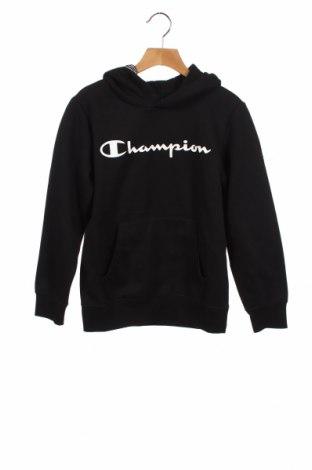 Детски суичър Champion, Размер 9-10y/ 140-146 см, Цвят Черен, 60% памук, 40% полиестер, Цена 34,30лв.