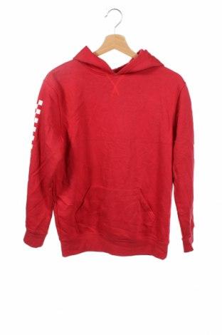 Детски суичър Clothing & Co, Размер 13-14y/ 164-168 см, Цвят Червен, 65% полиестер, 35% памук, Цена 6,83лв.