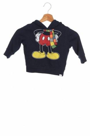 Детски суичър Disney, Размер 12-18m/ 80-86 см, Цвят Син, 77% памук, 23% полиестер, Цена 18,24лв.