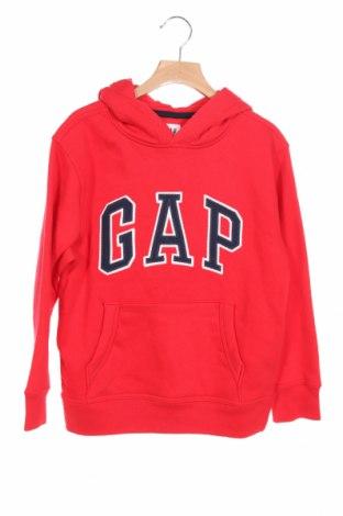 Детски суичър Gap Kids, Размер 7-8y/ 128-134 см, Цвят Червен, 77% памук, 23% полиестер, Цена 42,00лв.