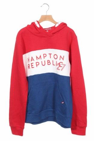 Детски суичър Hampton Republic, Размер 14-15y/ 168-170 см, Цвят Многоцветен, 80% памук, 20% полиестер, Цена 6,83лв.