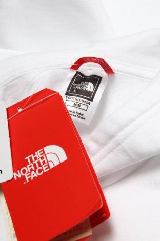 Детски суичър The North Face, Размер 8-9y/ 134-140 см, Цвят Бял, Памук, Цена 37,92лв.