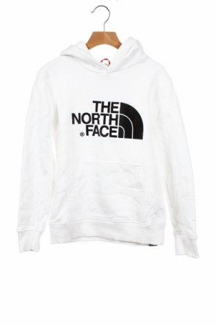 Детски суичър The North Face, Размер 8-9y/ 134-140 см, Цвят Бял, Памук, Цена 57,00лв.