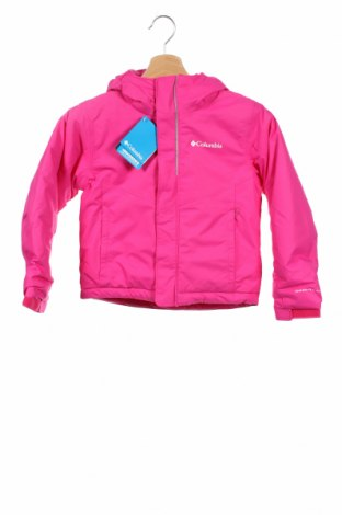 Детско спортно яке Columbia, Размер 4-5y/ 110-116 см, Цвят Розов, Полиамид, Цена 81,88лв.