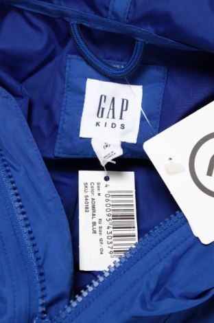 Детско яке Gap Kids, Размер 7-8y/ 128-134 см, Цвят Син, Полиестер, Цена 37,92лв.
