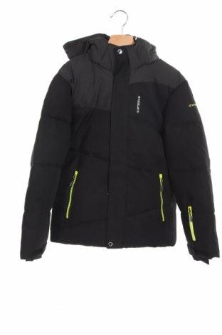 Детско яке за зимни спортове Icepeak, Размер 10-11y/ 146-152 см, Цвят Черен, 100% полиестер, Цена 108,00лв.