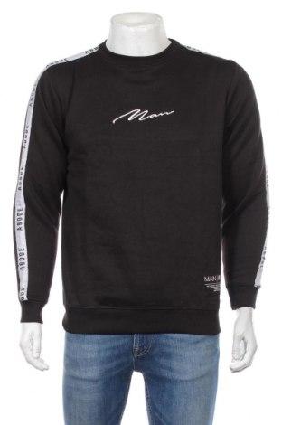 Ανδρική μπλούζα Boohoo, Μέγεθος S, Χρώμα Μαύρο, 50% βαμβάκι, 50% πολυεστέρας, Τιμή 10,82€