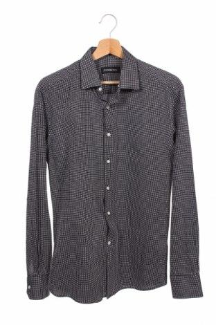 Мъжка риза Andrews, Размер M, Цвят Черен, Памук, Цена 4,73лв.