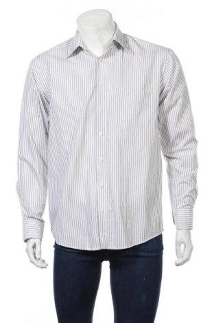Мъжка риза Atention, Размер M, Цвят Бял, Памук, Цена 4,99лв.
