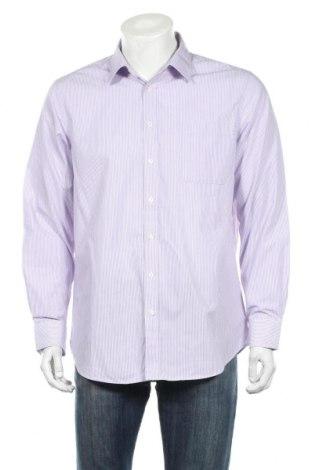Ανδρικό πουκάμισο Canda, Μέγεθος L, Χρώμα Βιολετί, Τιμή 4,09€