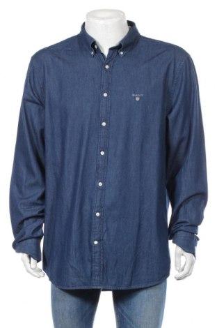 Ανδρικό πουκάμισο Gant, Μέγεθος 3XL, Χρώμα Μπλέ, Βαμβάκι, Τιμή 34,42€