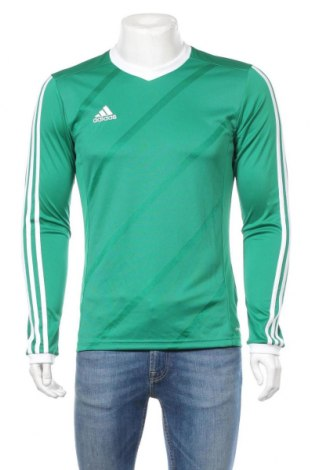 Ανδρική αθλητική μπλούζα Adidas, Μέγεθος S, Χρώμα Πράσινο, Πολυεστέρας, Τιμή 16,42€