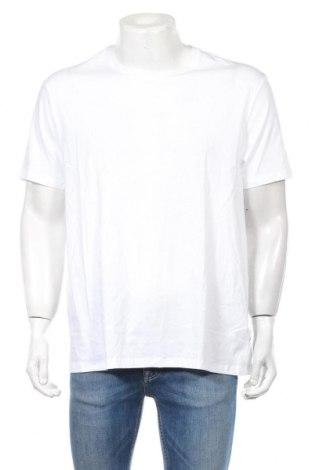 Мъжка тениска Burton of London, Размер XL, Цвят Бял, 100% памук, Цена 27,30лв.